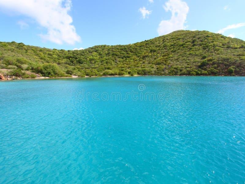 Île normande - la Caraïbe photos libres de droits