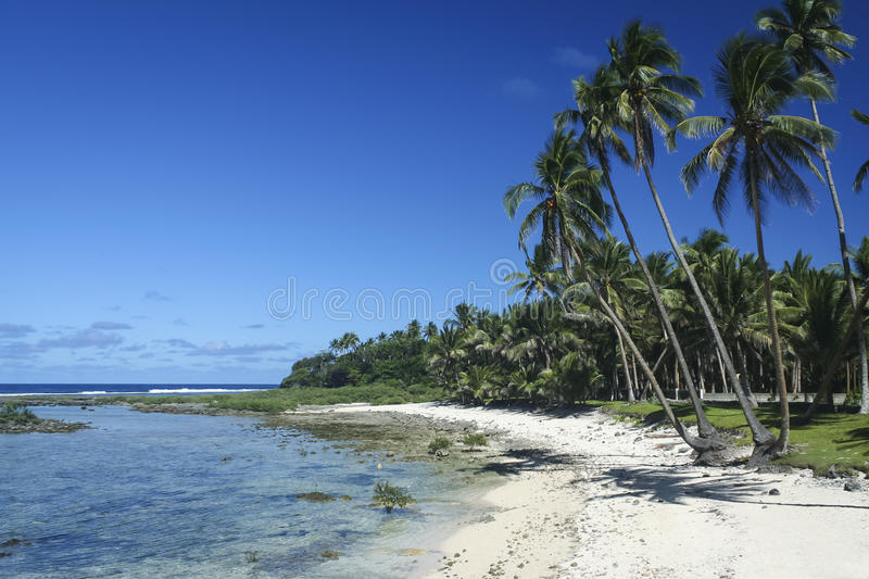 Île Philippines de siargao de plage sablonneuse photo libre de droits