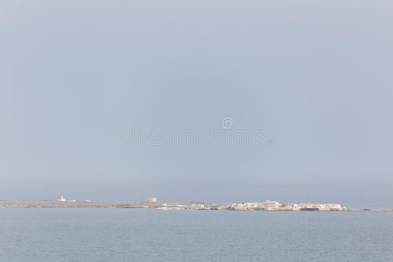 Île Tabarca dans Alicante image stock