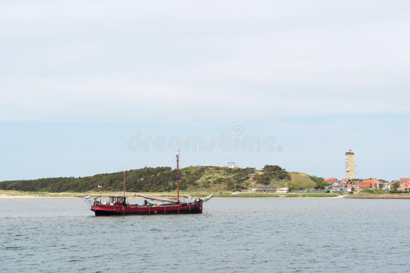 Île Terschelling du wadden de Néerlandais images libres de droits