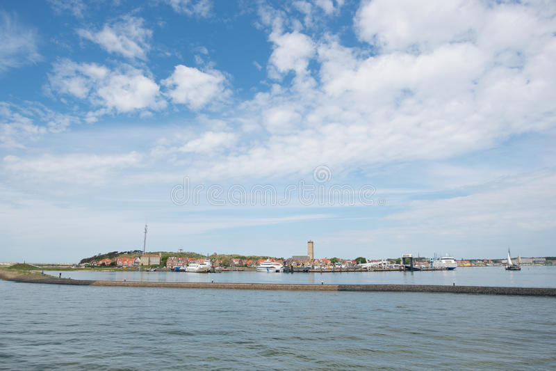 Île Terschelling du wadden de Néerlandais image stock