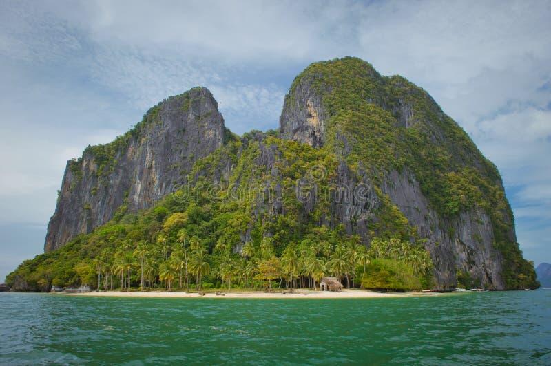 Îles d'EL Nido, Philippines images libres de droits