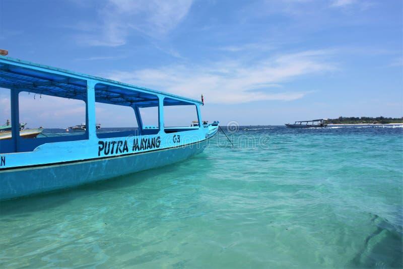 Îles de Gilli, Indonésie photos stock