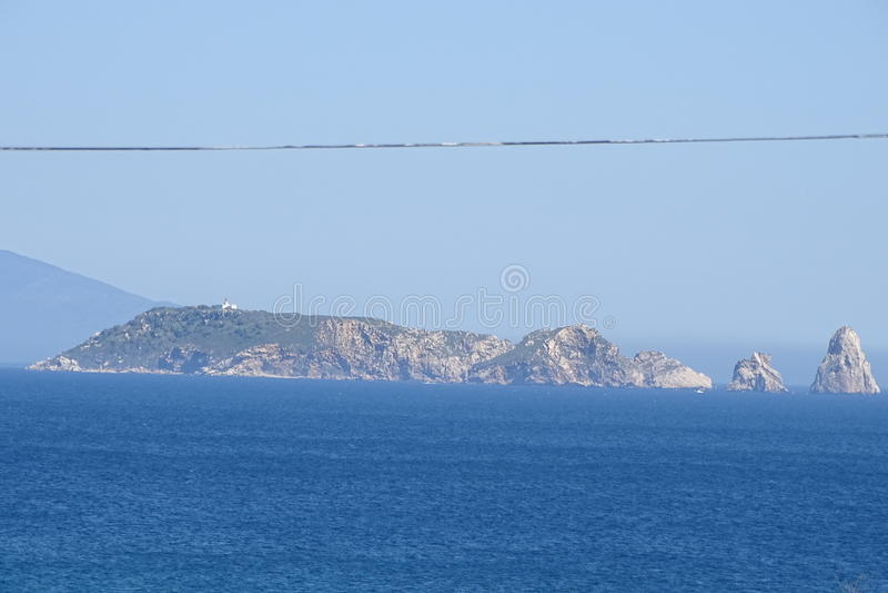 Îles de Medes de Costa Brava, Catalogne, Espagne photos libres de droits
