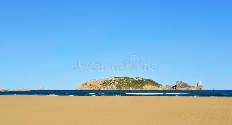 Îles de Medes, Espagne images libres de droits