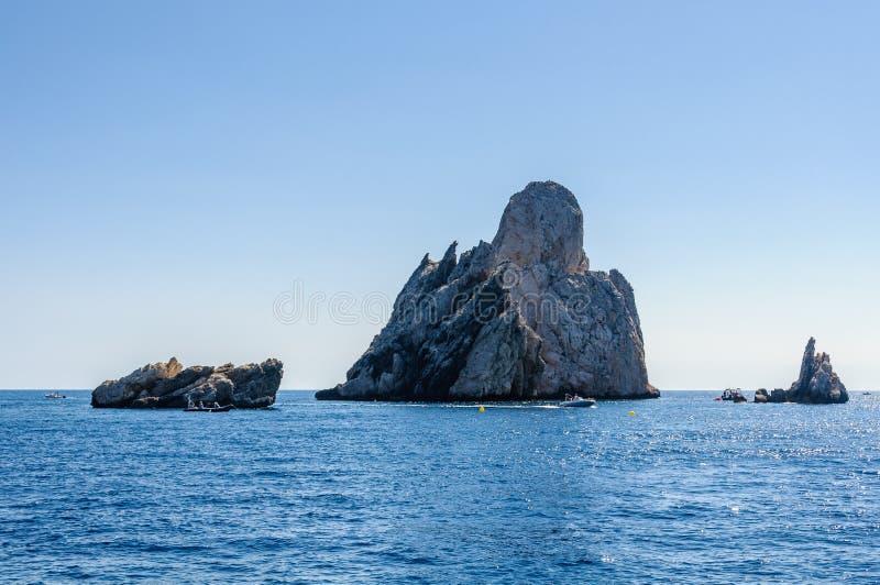 Îles de Medes près d'Estartit en Espagne image stock