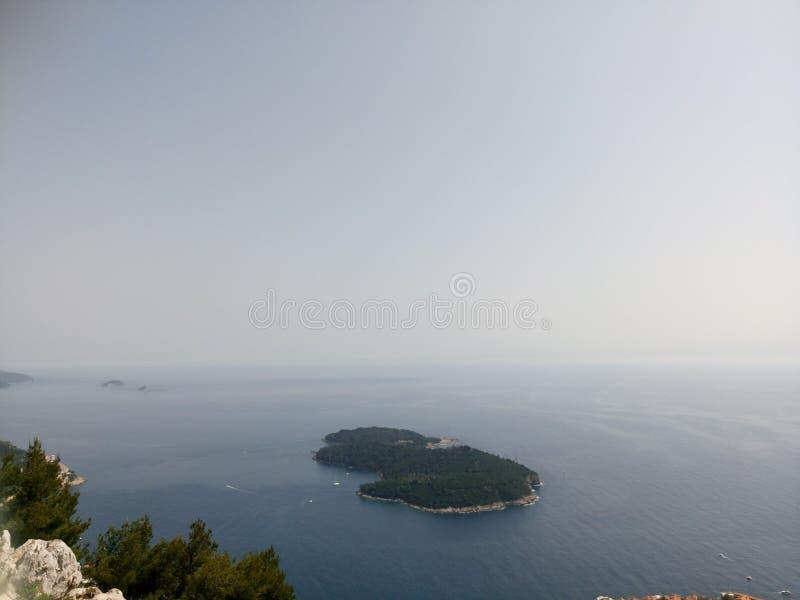 Îles de Mer Adriatique photographie stock libre de droits
