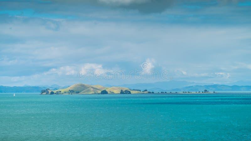 Îles du Golfe de Hauraki photographie stock libre de droits