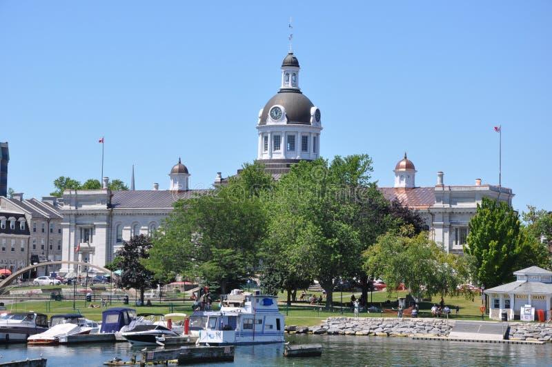 1000 îles et Kingston dans Ontario photos libres de droits