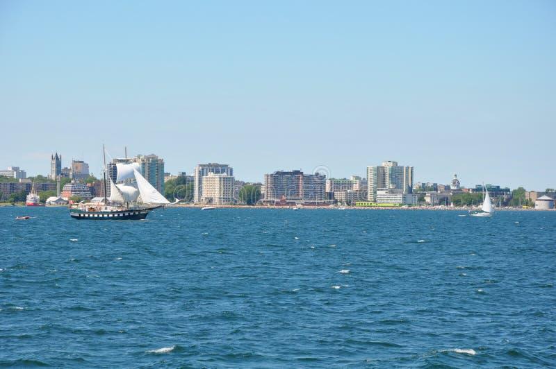 1000 îles et Kingston dans Ontario images libres de droits