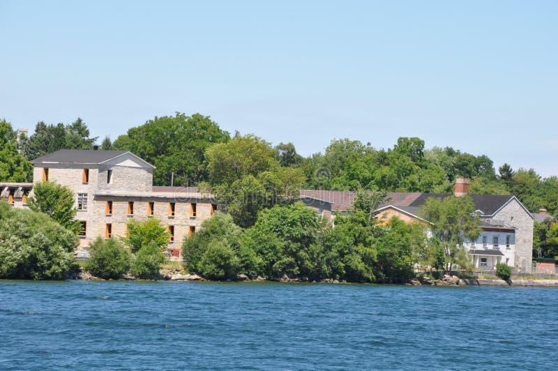 1000 îles et Kingston dans Ontario images stock