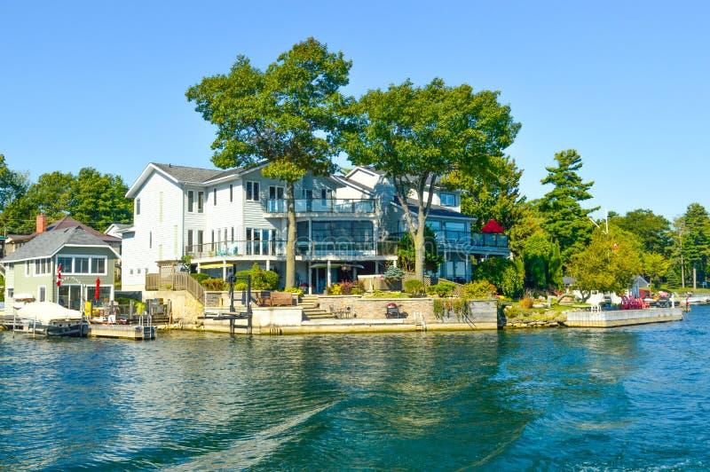 1000 îles et Kingston dans Ontario photographie stock