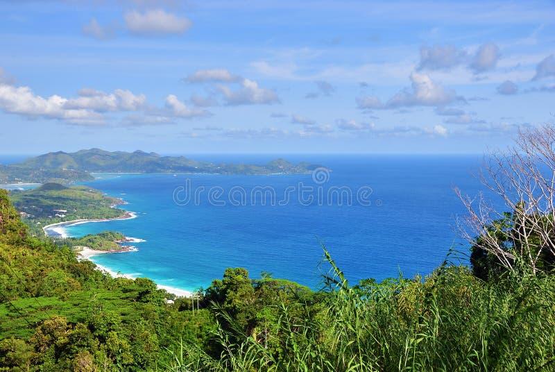 Îles Mahe des Seychelles image libre de droits