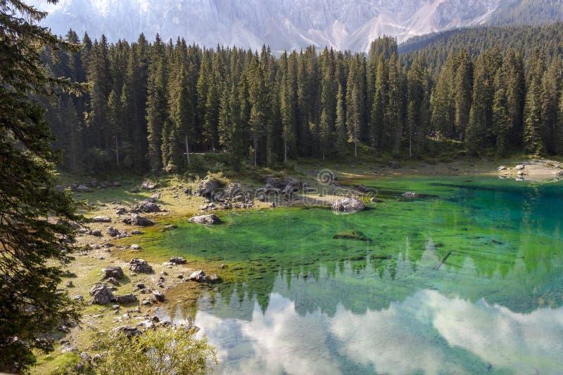 Italy, the Dolomites, Karerpass (Passo di Costalunga