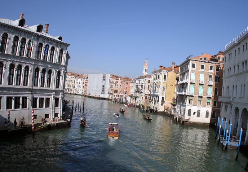 Όμορφη ηλιόλουστη ημέρα σε Venecia Ιταλία 2019 στοκ εικόνες