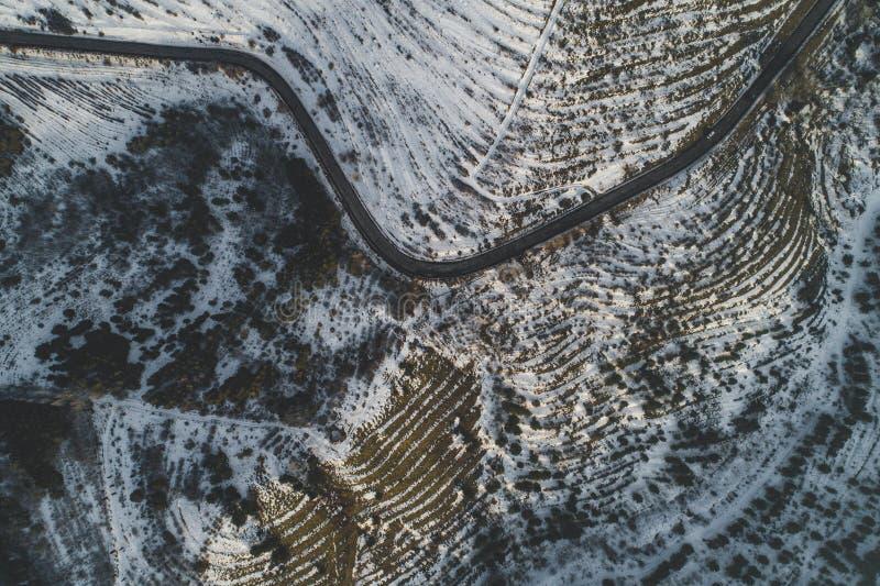 Όμορφοι χιονώδεις λόφοι στοκ φωτογραφίες
