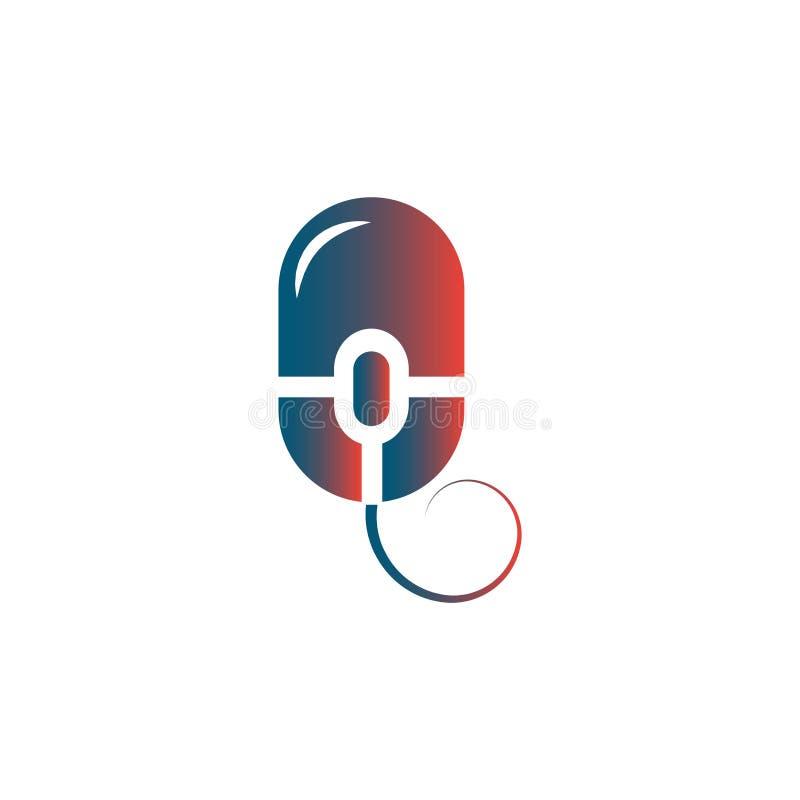 Σε απευθείας σύνδεση καταστημάτων απεικόνιση σχεδίου προτύπων λογότυπων διανυσματική ελεύθερη απεικόνιση δικαιώματος