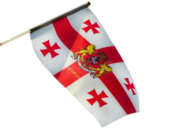 σημαία Γεωργία στοκ φωτογραφίες