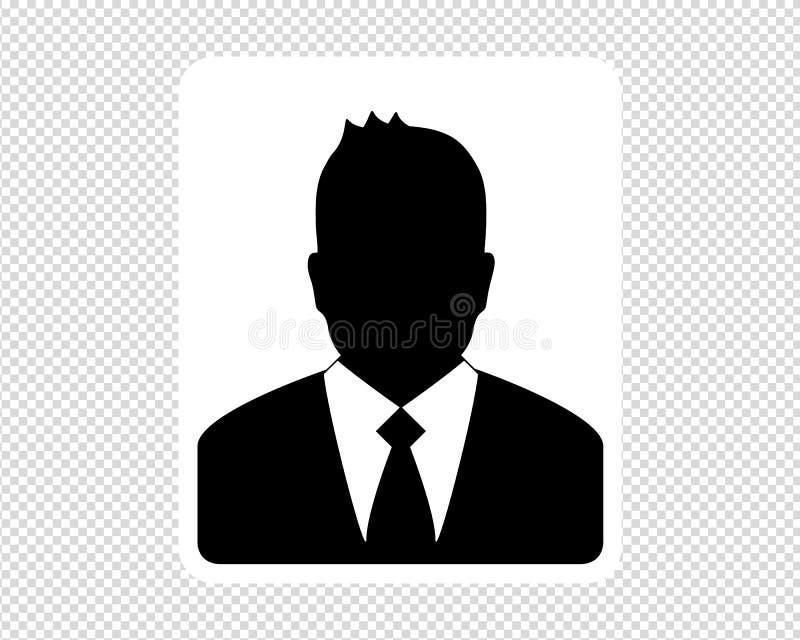 Σκιαγραφία επιχειρησιακών ατόμων - διανυσματική απεικόνιση - που απομονώνεται στο διαφανές υπόβαθρο ελεύθερη απεικόνιση δικαιώματος