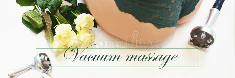 Σκλήρυνση δερμάτων RF Κενό μασάζ Cosmetology υλικού γυναίκα ύδατος σωμάτων care foot health spa Μη χειρουργικό σωμάτων αντι -αντι στοκ εικόνα