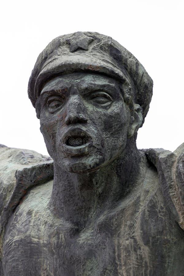 σοβιετικό άγαλμα στοκ φωτογραφία με δικαίωμα ελεύθερης χρήσης