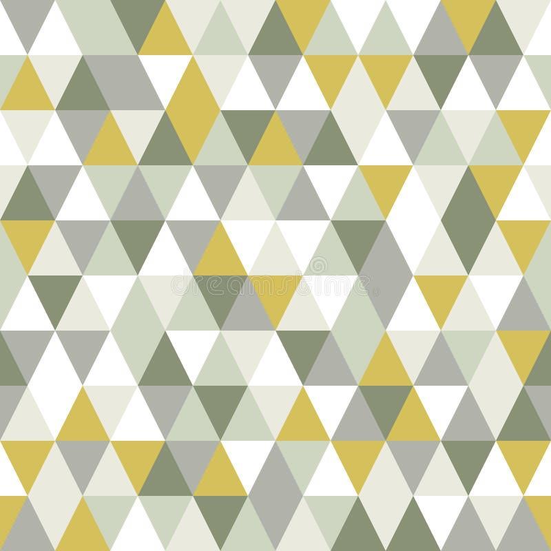 Σύγχρονο άνευ ραφής σχέδιο τριγώνων απεικόνιση αποθεμάτων