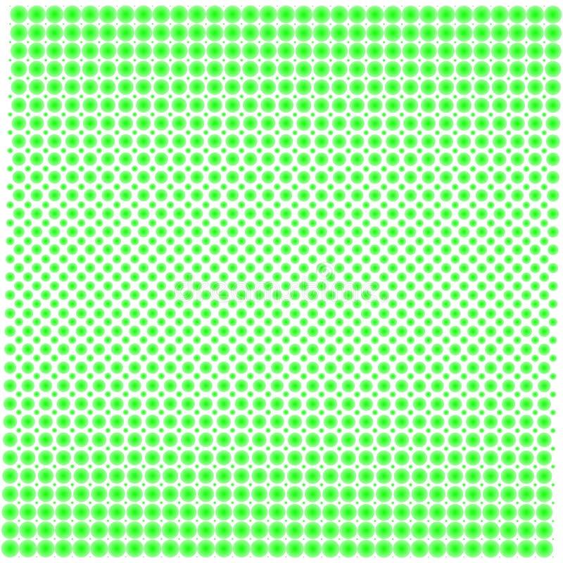 Σύσταση υποβάθρου των σημείων με την κλίση πράσινη στο λευκό απεικόνιση αποθεμάτων