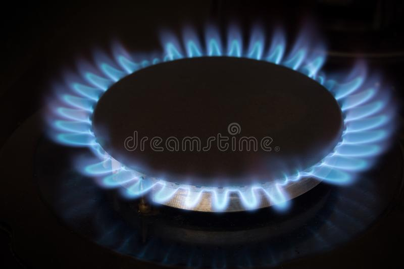 Σόμπα αερίου στοκ εικόνες