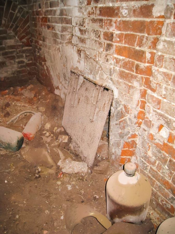 Σώμα και υπόγεια dorm σε Khamovniki στοκ εικόνες με δικαίωμα ελεύθερης χρήσης