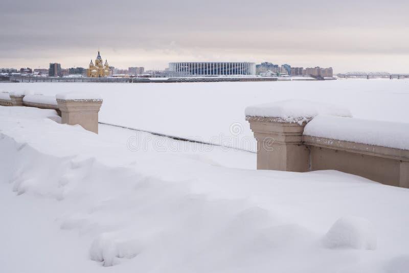 Στάδιο Novgorod Nizhny στοκ φωτογραφία με δικαίωμα ελεύθερης χρήσης