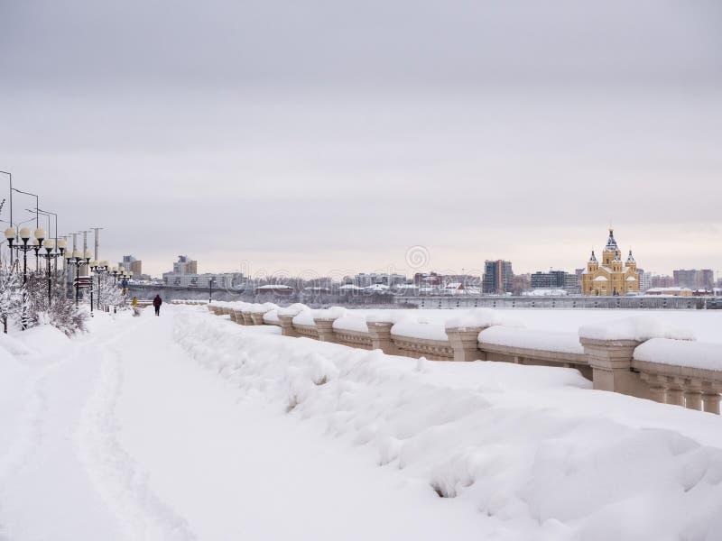 Στάδιο Novgorod Nizhny στοκ φωτογραφίες με δικαίωμα ελεύθερης χρήσης