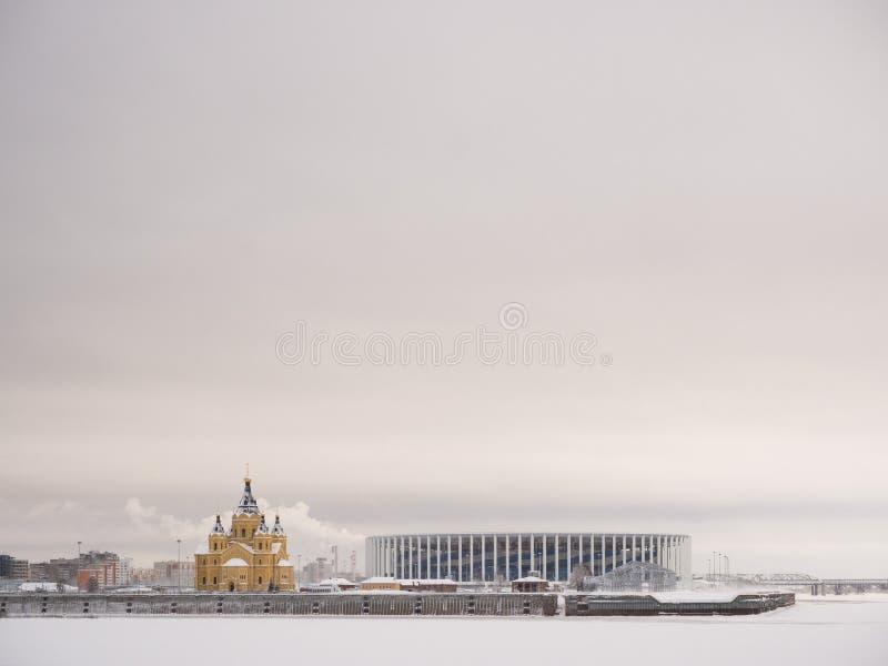 Στάδιο Novgorod Nizhny στοκ εικόνες με δικαίωμα ελεύθερης χρήσης