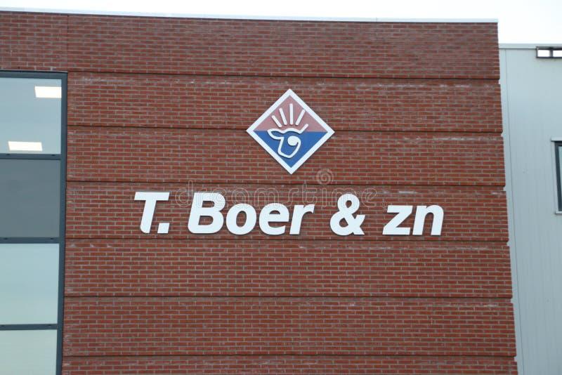 Σφαγείο Μπόερ όπου ο μόσχος βόειου κρέατος θανατώνεται και προετοιμάζεται για τα εστιατόρια στο κρησφύγετο IJssel Nieuwerkerk aan στοκ φωτογραφία με δικαίωμα ελεύθερης χρήσης