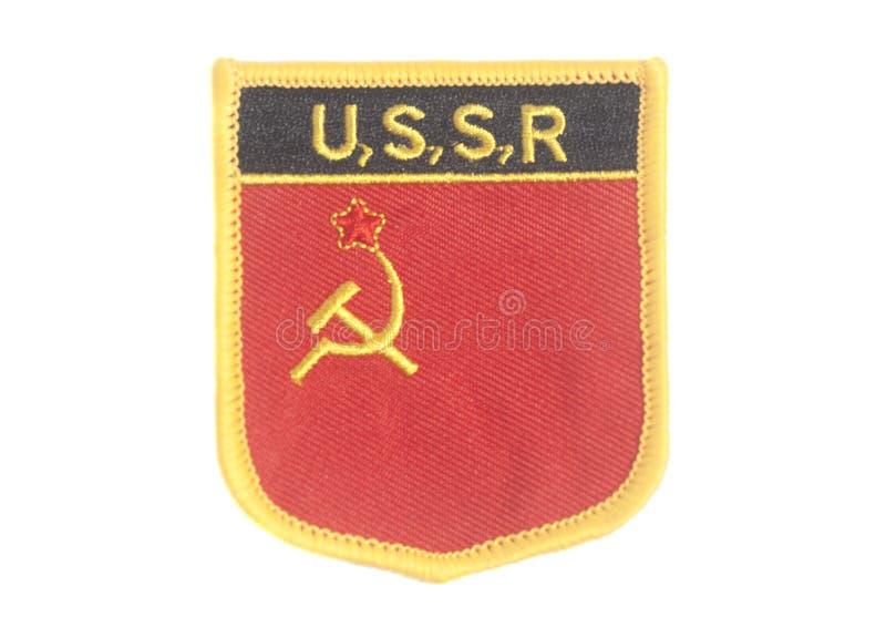 Σφυρί και δρεπάνι συμβόλων της ΕΣΣΔ στοκ εικόνες