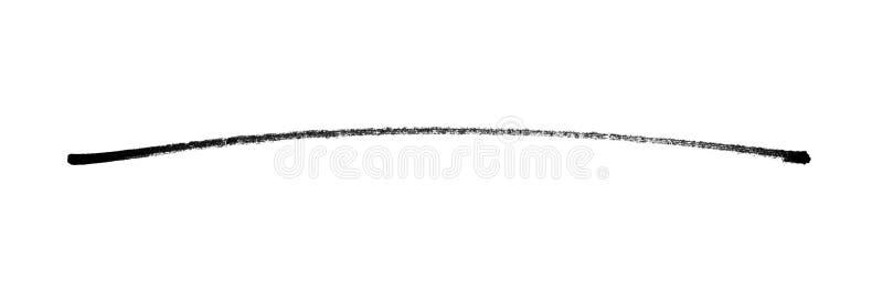 Συρμένη χέρι μαύρη γραμμή μολυβιών απεικόνιση αποθεμάτων