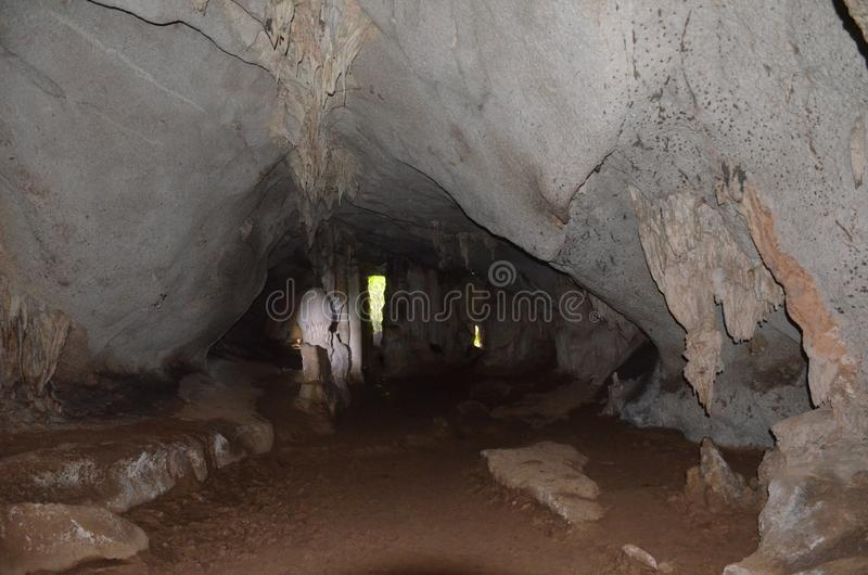 Σπηλιά παγωτού στην επαρχία Phang Nga, Ταϊλάνδη στοκ φωτογραφία με δικαίωμα ελεύθερης χρήσης