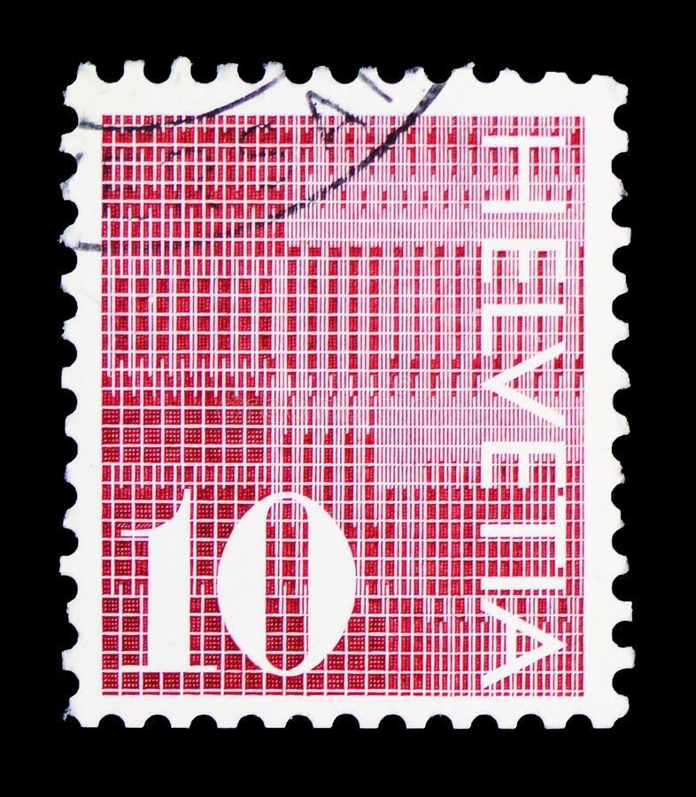 Ψηφία \ «10 \» στο διαμορφωμένο υπόβαθρο, αριθμός serie, circa 1970 στοκ φωτογραφία με δικαίωμα ελεύθερης χρήσης