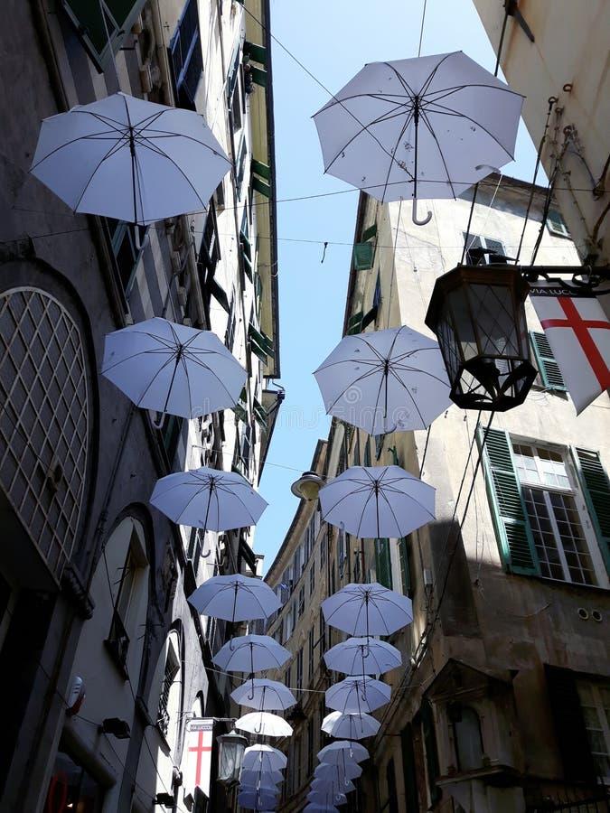 Τέχνη οδών Γένοβας σε B&W στοκ εικόνα με δικαίωμα ελεύθερης χρήσης