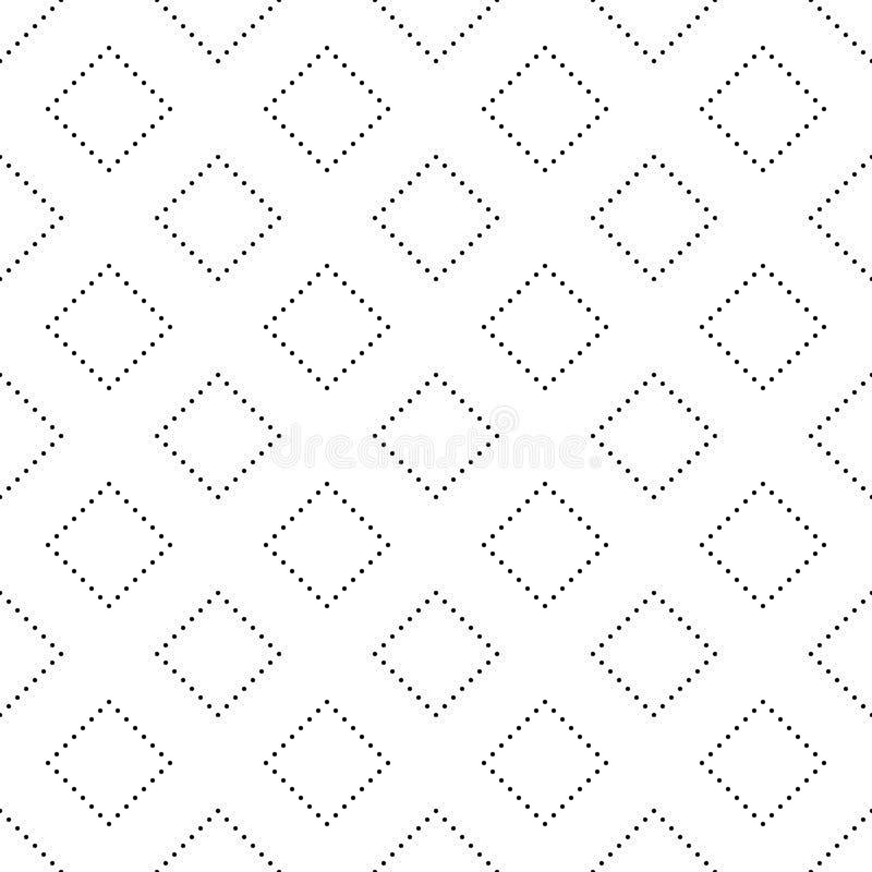 Τα άνευ ραφής γραπτά σημεία κύκλων αφαιρούν το γεωμετρικό σχέδιο ελεύθερη απεικόνιση δικαιώματος