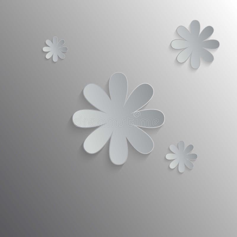 τα λουλούδια εμβλημάτων ανασκόπησης διαμορφώνουν λίγη ρόδινη σπείρα απεικόνιση αποθεμάτων