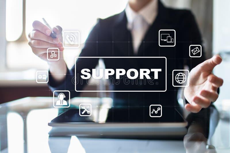 Τεχνική υποστήριξη και εξυπηρέτηση πελατών Έννοια επιχειρήσεων και τεχνολογίας στοκ φωτογραφία