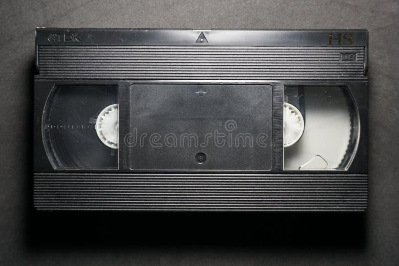 Τηλεοπτική κασέτα VHS TDK στοκ φωτογραφίες με δικαίωμα ελεύθερης χρήσης