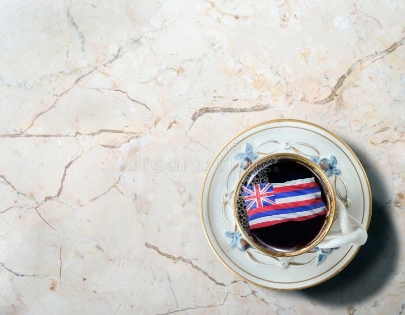 Της Χαβάης καφές πρωινού στοκ εικόνα
