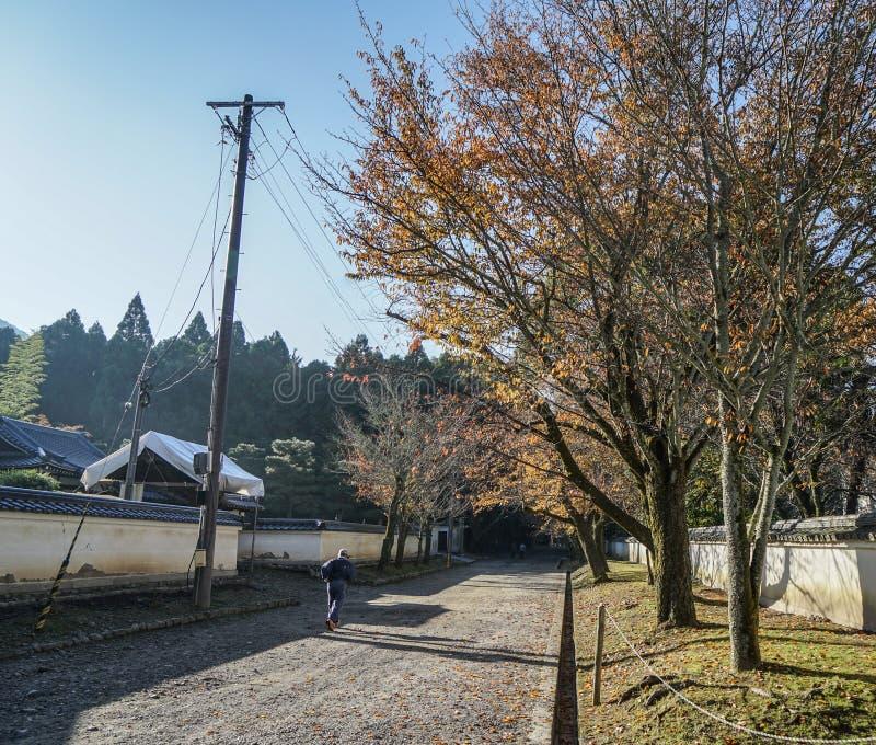 Τοπίο φθινοπώρου του Κιότο, Ιαπωνία στοκ εικόνα