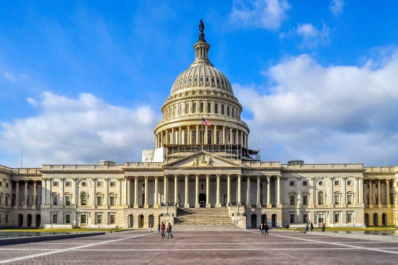 Το αρχικό Ηνωμένο Capitol κτήριο στοκ εικόνες με δικαίωμα ελεύθερης χρήσης