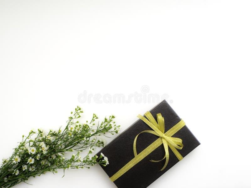 το κιβώτιο ανθίζει το δώρο στοκ φωτογραφίες με δικαίωμα ελεύθερης χρήσης