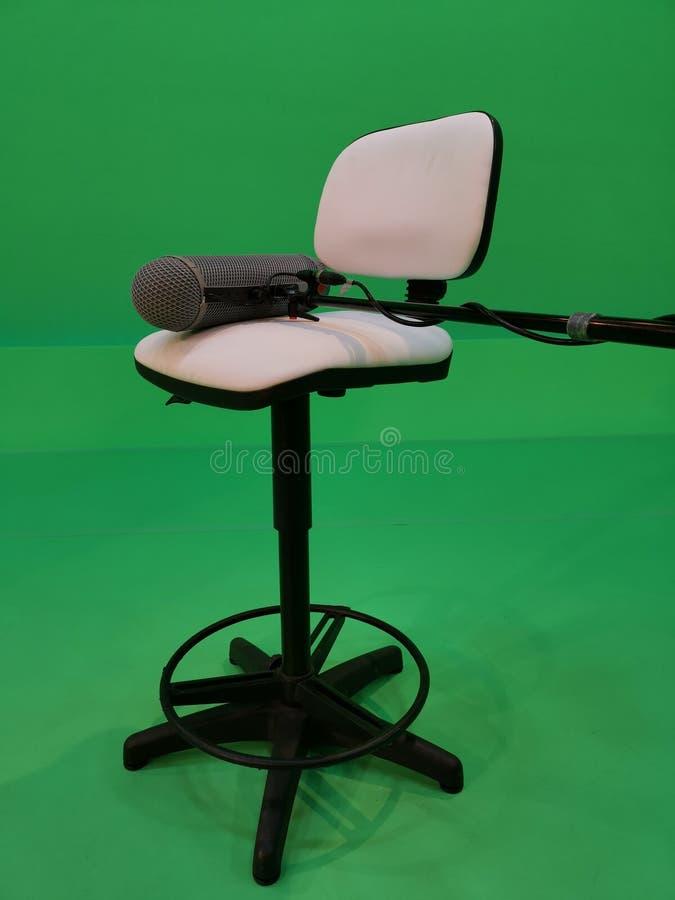 Το μικρόφωνο βραχιόνων για τον επαγγελματικό ήχο συλλαμβάνει στοκ φωτογραφία με δικαίωμα ελεύθερης χρήσης