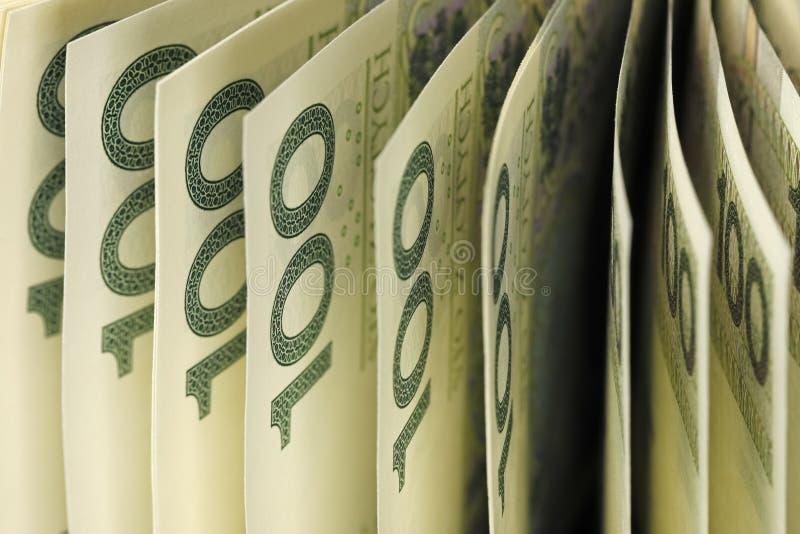 Το οικονομικό υπόβαθρο που δημιουργείται από τα πολωνικά χρήματα στοκ φωτογραφία με δικαίωμα ελεύθερης χρήσης