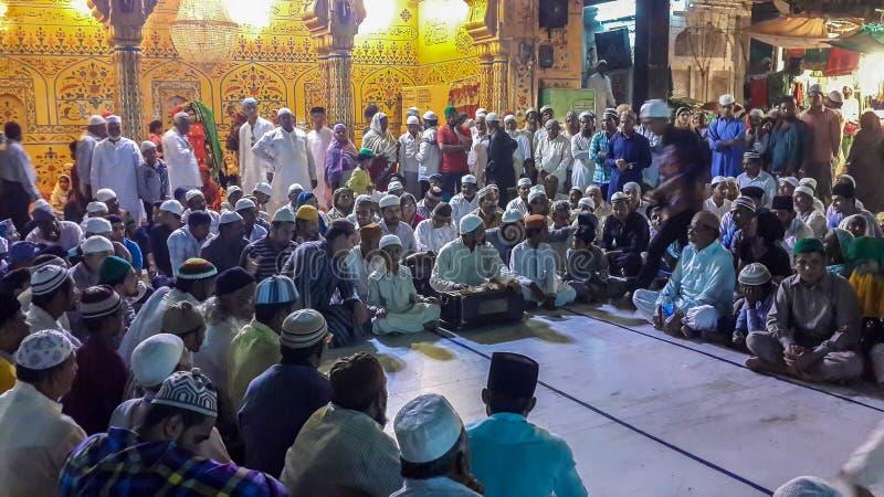 Το Σεπτέμβριο του 2015 chishti khwaja moinuddin dargah sarif σε Ajmer, Rajasthan, Ινδία Το Σεπτέμβριο του 2015 στοκ φωτογραφίες με δικαίωμα ελεύθερης χρήσης