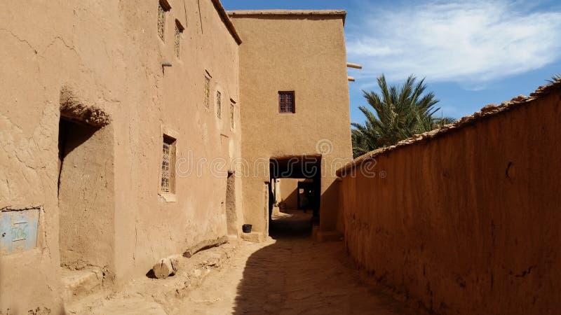 Το χωριό είχε ben το haddou για το ouarzazate στοκ φωτογραφία με δικαίωμα ελεύθερης χρήσης